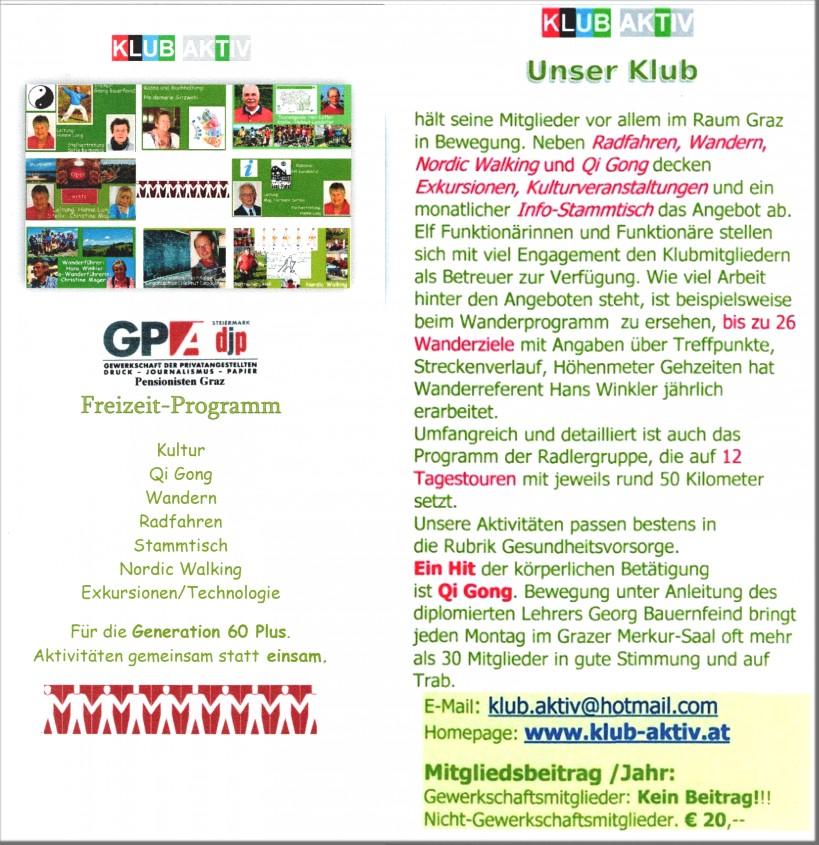 GPA-djp Graz PensionistInnen KLUB AKTIV